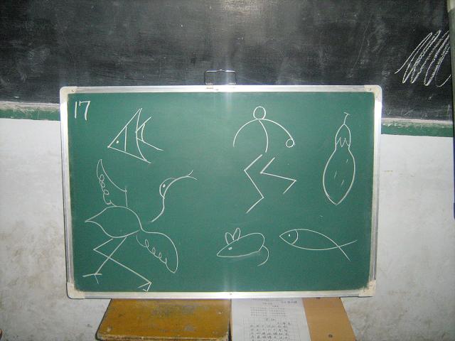 教师们尽显艺术才能,妙趣横生的简笔画